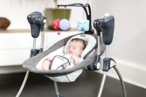 balancelle bébé électrique