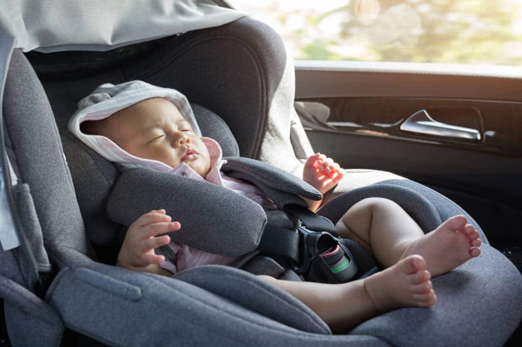 Voyage avec bébé