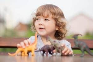 Cadeau de naissance dinosaures