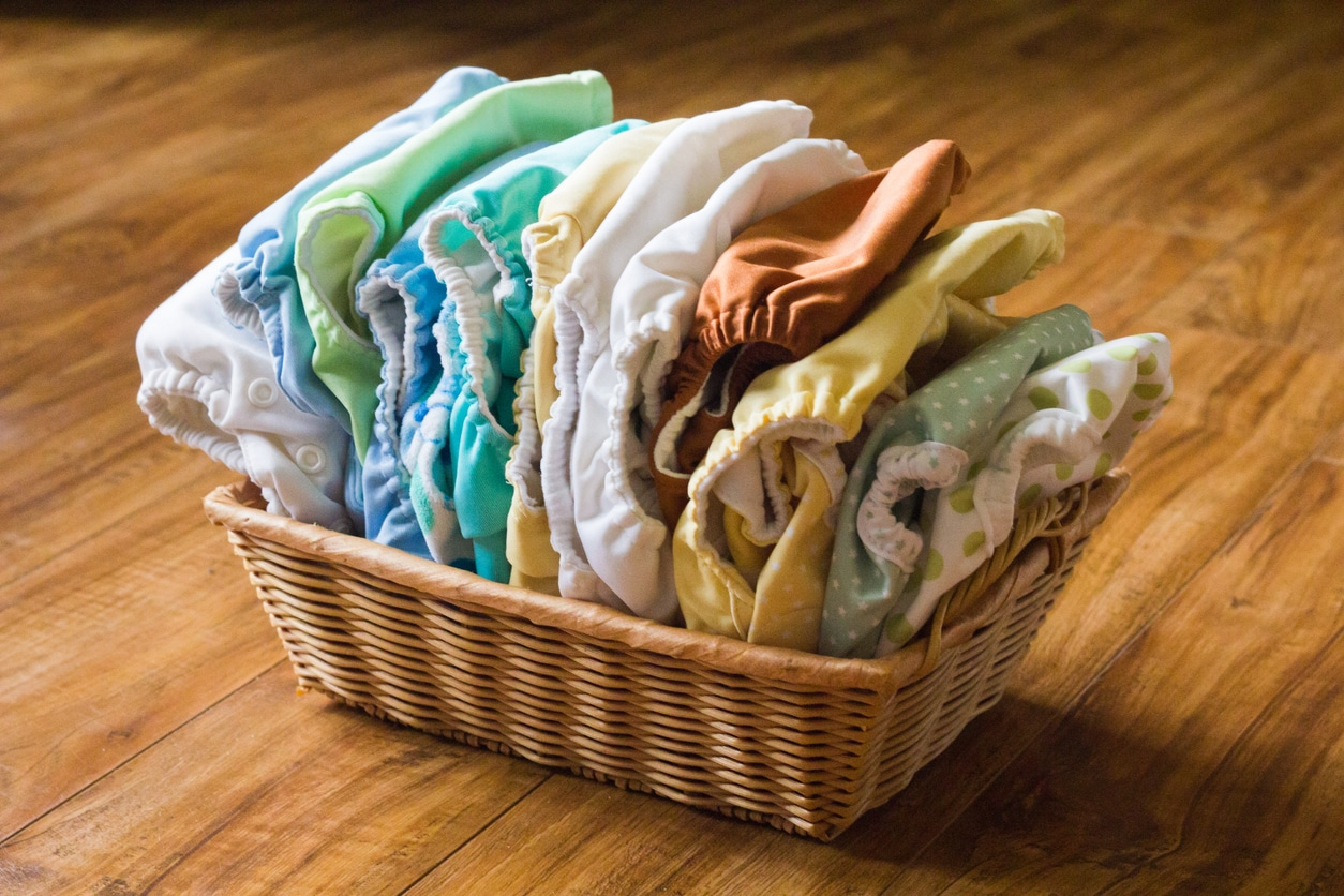 Bien entretenir les couches lavables bébé